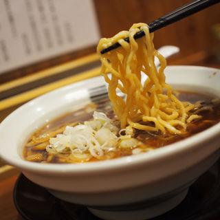 4種の魚介醤油ラーメン(烈火 )