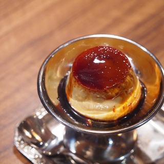 自家製カスタードプリン(モトマチ喫茶 )
