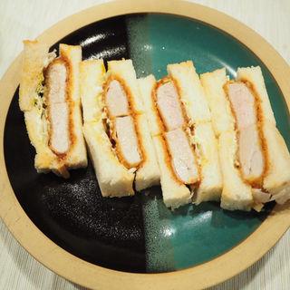 トンヘレカツサンド(なおらい )