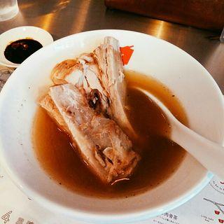 肉骨茶ライスセット(シンガポールバクテー)