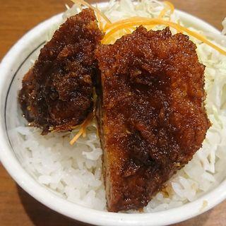 ミニソースかつ丼(喜八 )