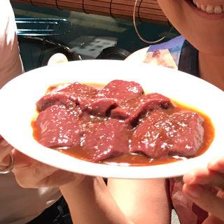 レバ焼き(焼肉ジャンボ 本郷店 )
