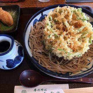 かにのかき揚げ蕎麦(手打そば 香雪庵 (てうちそば・こうせつあん))