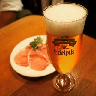 生ハム(BERG (BEER&CAFE BERG))
