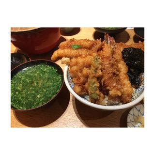 天丼(松)穴子(天丼 金子屋 赤坂店 )