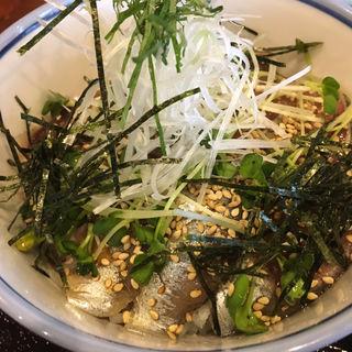 真いわし漬丼定食(観音食堂 七兵衛 )