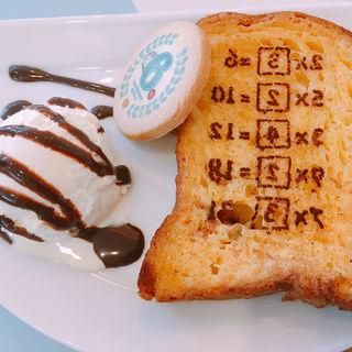 フレンチトーストdeアンキパン(藤子・F・不二雄ミュージアムカフェ )