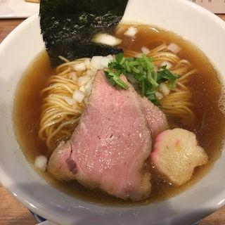 煮干しソバ(1周年限定)(中華ソバ 篤々 TOKU-TOKU)