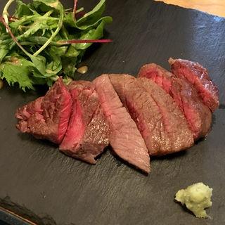 和食コース 牛ステーキ(三日月 )