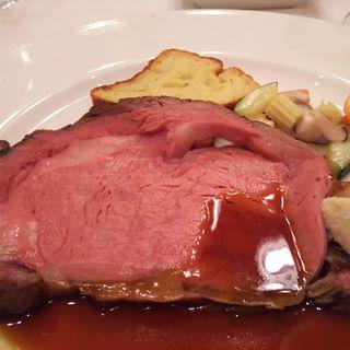 帝国ホテル伝統のローストビーフ(ラ ブラスリー (TRADITIONAL DINING La Brasserie))