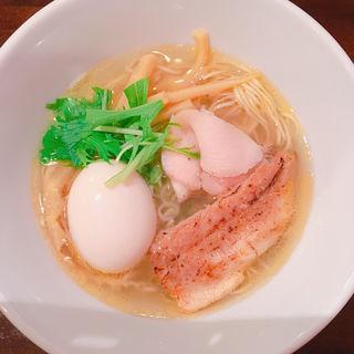 塩煮卵(麺や風虎 )