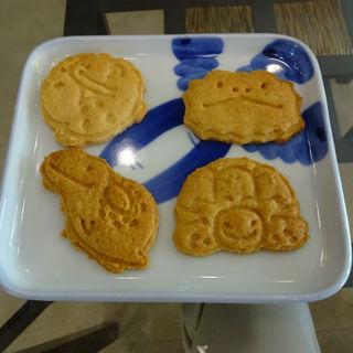 米粉とココナッツクッキー(横浜亜熱帯茶館 (爬虫類 Cafe))