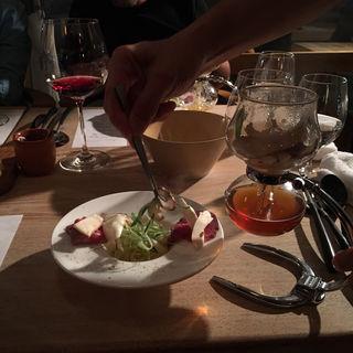 和牛 松茸 九条葱 コンソメのカッペリーニ ズッパインブロード(Restaurant Anis (レストラン アニス))