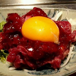 ユッケ(肉十八 松井山手店)