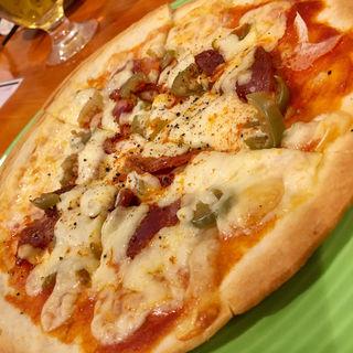 チョリソーとハラペーニョのピザ(GRILL KING (グリルキング))