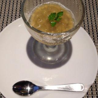 ていざ茄子のムース 生姜のジュレ(ミラヴィルインパクト)