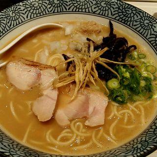 超濃厚鶏白湯そば(濃厚京鶏白湯らーめん めんや 美鶴 (ミツル))