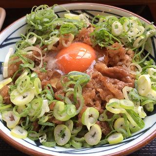 牛すき釜玉 並(丸亀製麺 伊丹南町店 )