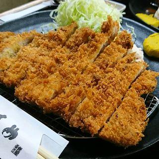特選ロースカツ定食(とんかつ 清竹)