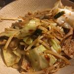 豚肉と野菜の炒め物味噌味