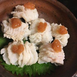 ハモ湯引き(くつろぎ屋 我心 (がしん))