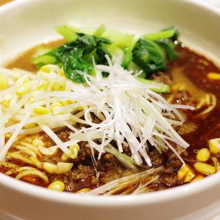 担々麺、4種ナッツと自家製辣油で(ハーフ)(喜臨軒 (キリンケン))
