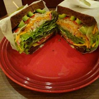 サンドイッチ・ベジタリアン(むさしの森珈琲 横浜三ッ沢店)