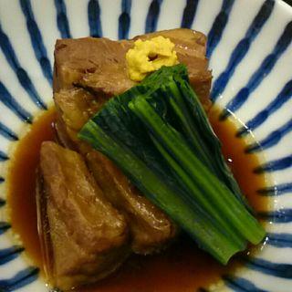 豚の角煮(小料理  藁)