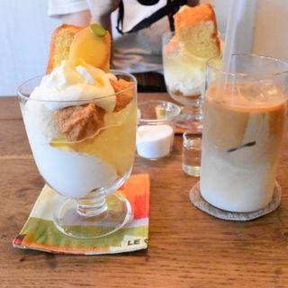 レモンパフェ(アカツキコーヒー )