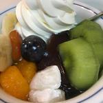 フルーツクリームあんみつ(みはし 上野本店 )