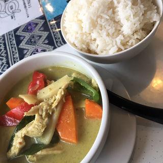 グリーンカレー(タイキッチン チャバ (Thai kitchen Chaba))