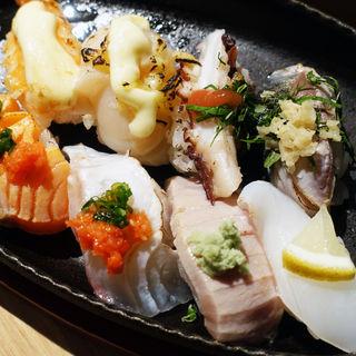すし焼き 八貫(赤出汁付)(ときすし はなれ (トキスシハナレ))