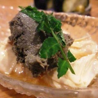 湯葉のうるか味噌(立呑み もんぞう)