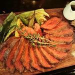 トヨニシ牛のステーキ