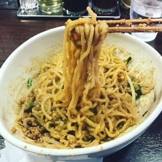 炎真汁なし坦々麺(たん担めん麺 炎真 (タンタンメンメン エンシン))