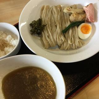 鶏煮干白湯つけ麺(ガチ麺道場 )