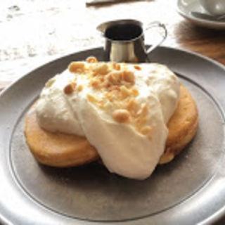 マカダミアナッツのパンケーキ(THE MOST COFFEE)