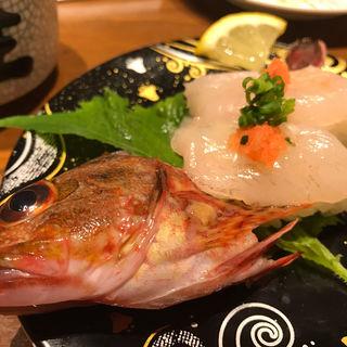 ガラカブ(かさご)の握り(ばんばん寿司 イオンタウン熊本西店 )