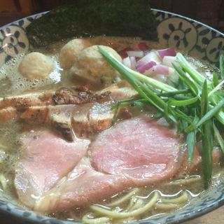 濃厚煮干鶏白湯(縁乃助商店 )