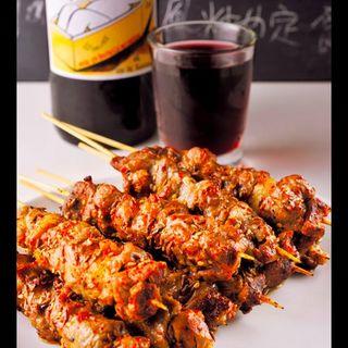 ラム肉の串焼き(10本)(味坊)