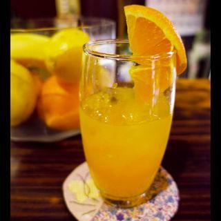 オレンジジュース(ペペル・モコ )