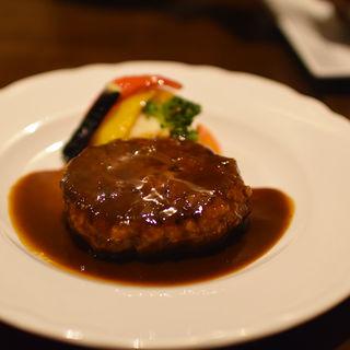 デミグラスハンバーグ(洋食 ヤブ カラ ボウ (洋食 yabu kara bou))