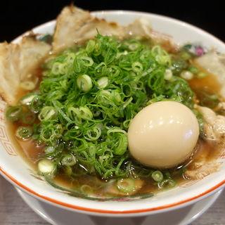 醤油クラシックネギらーめん(麺匠 篠山らーめん アメリカ村店 )