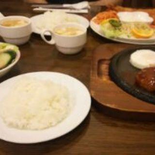 ハンバーグステーキ(北斗星 )