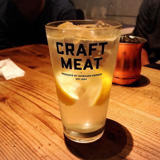 生レモンサワー(CRAFT MEAT (クラフトミート))