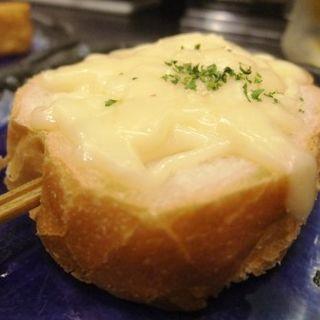 チーズバゲット(鉄板 道)