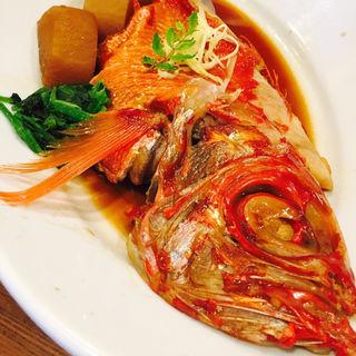 金目鯛の煮付け(味くらべ )