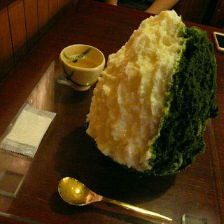 かき氷(おまかせ)(ちもと)