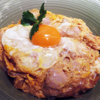 丹波肉鶏の親子丼(大阪釆なりうどん きらく 阿倍野店 )