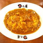 名物カツカレー(日乃屋カレー 大手町店)